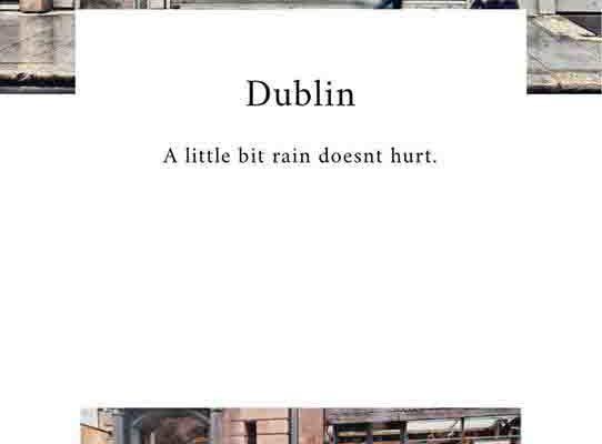 [ 愛爾蘭打工渡假 ] Dublin's life / Mood Diary