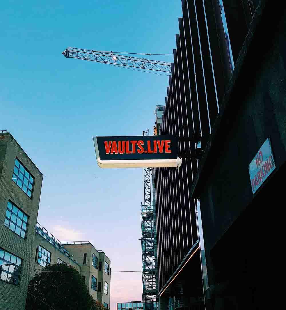 Vaults Live 2019都柏林最新旅遊景點!